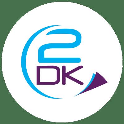 2DK Logo