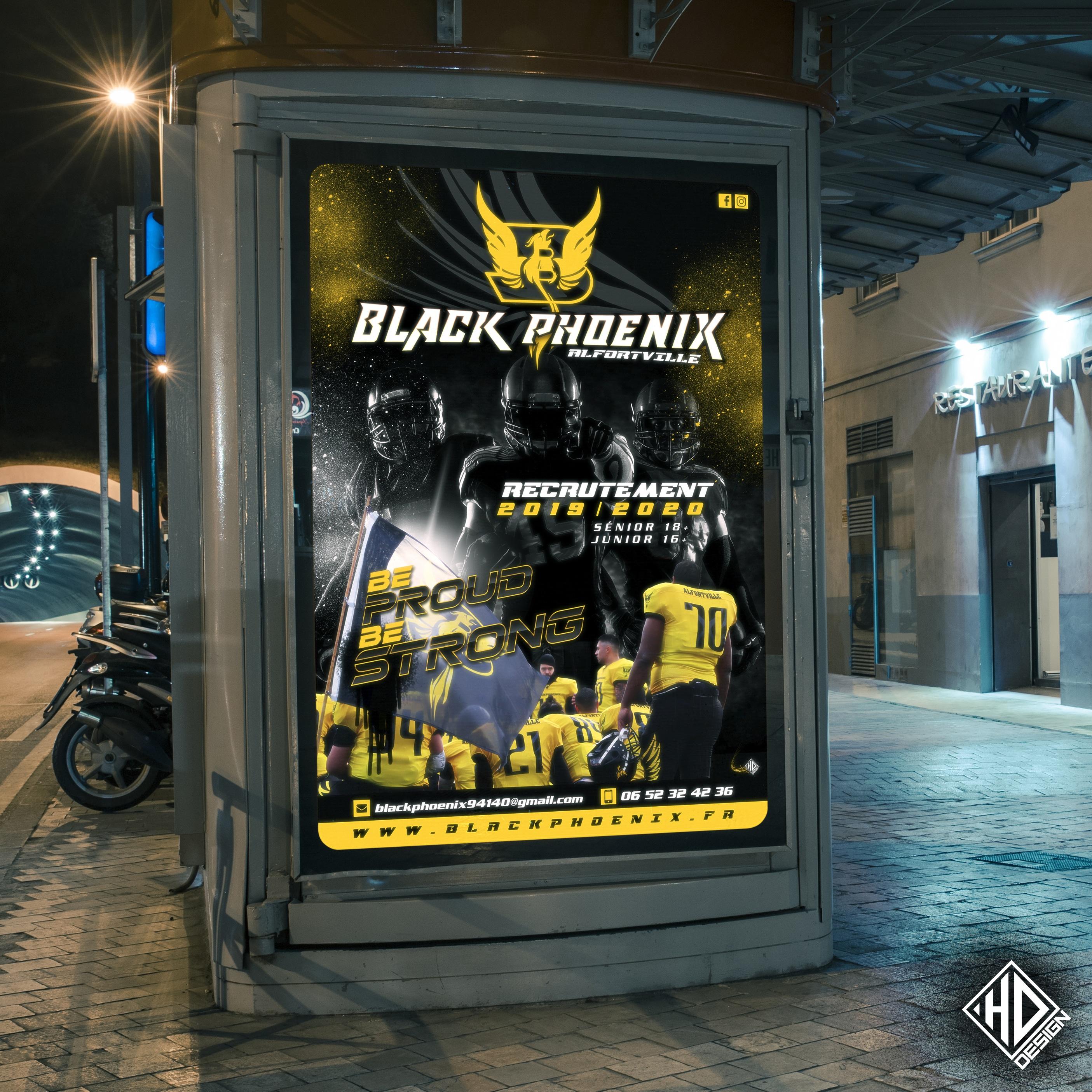 Affiche Black Phoenix