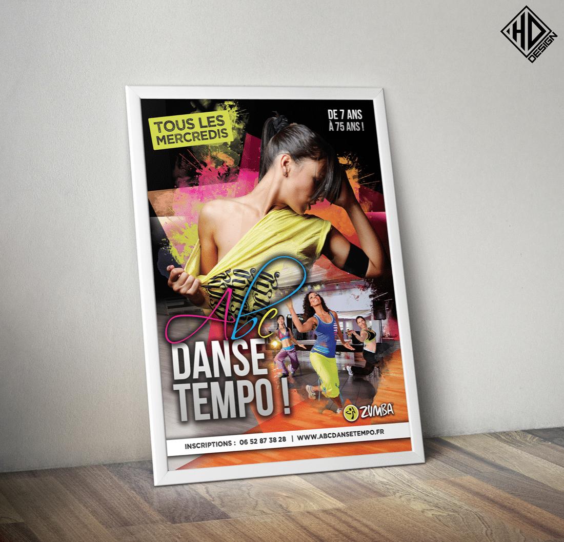 Affiche Danse Tempo