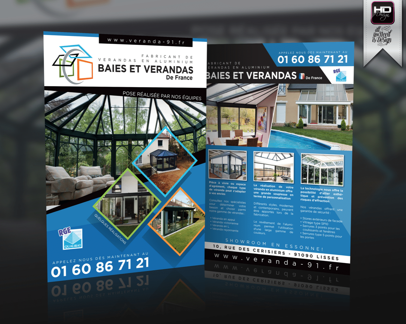 Flyer Baies et Verandas