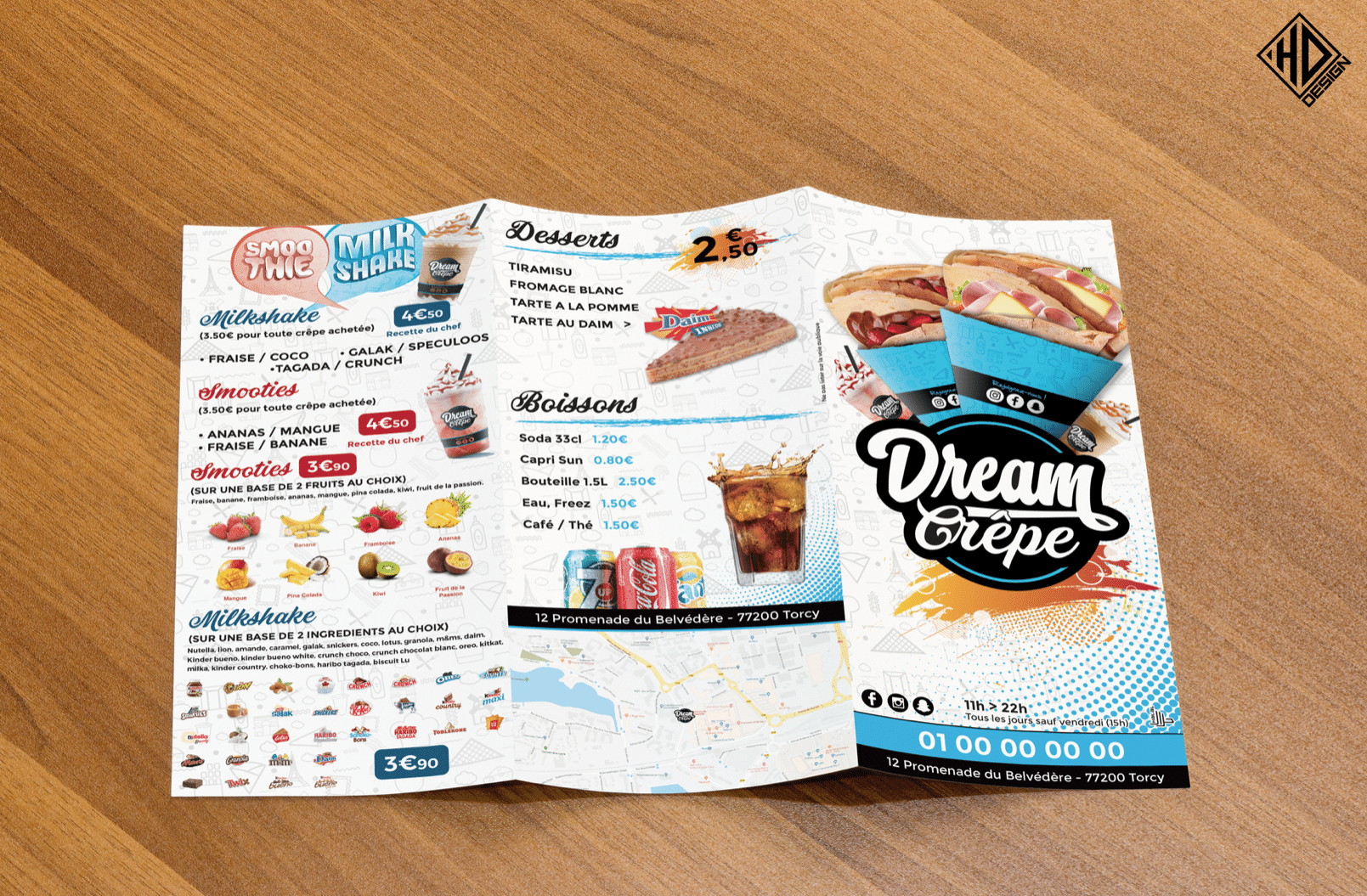 Flyer Dream Crêpe