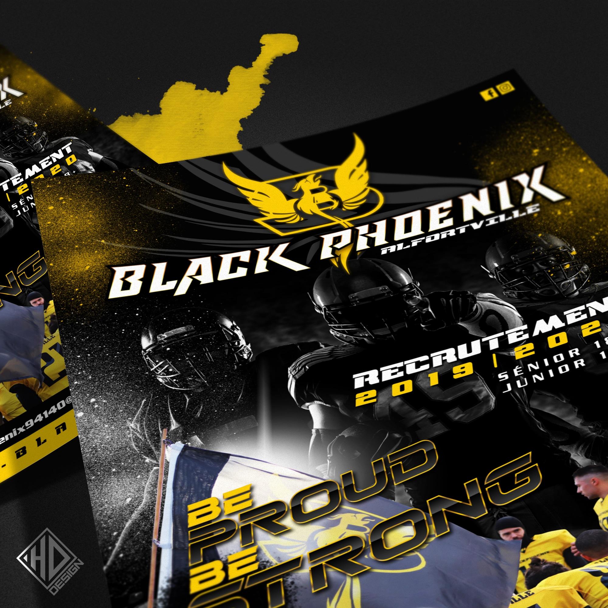 Flyer Black Phoenix