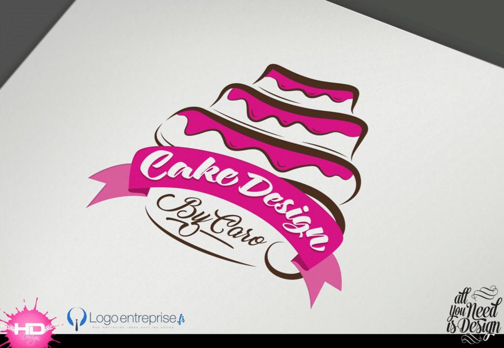 Cake Design Logo