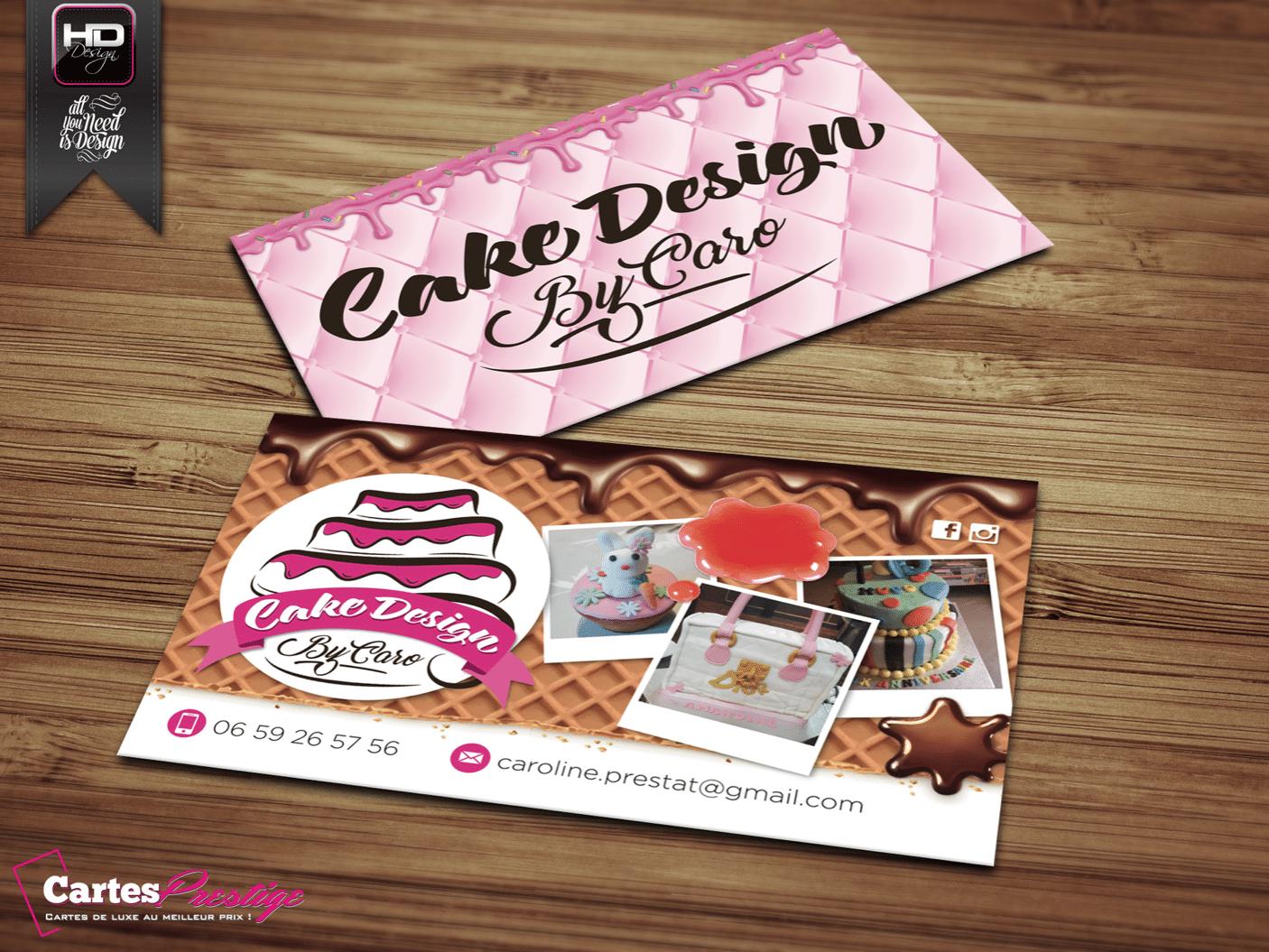 Cartes de visite Cake Design