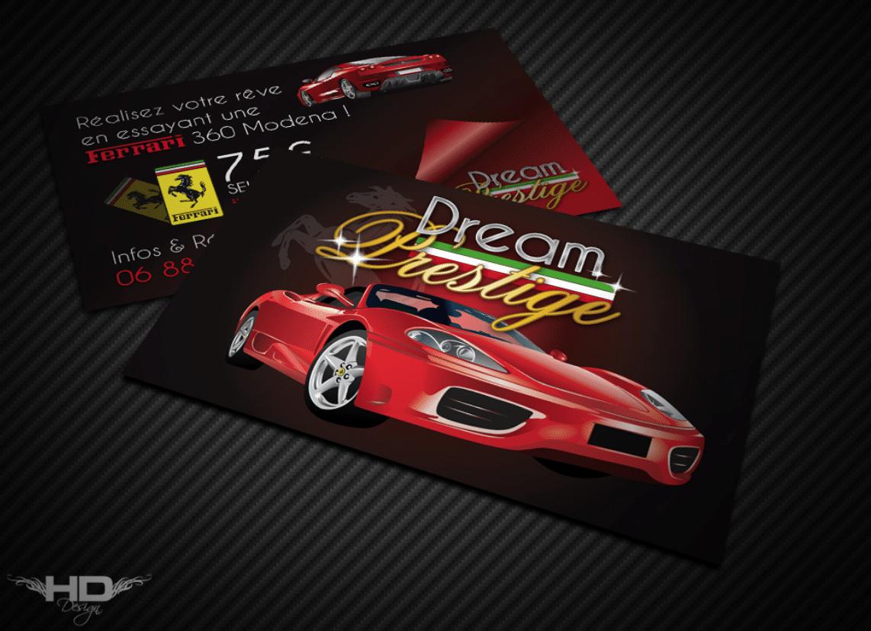 Cartes de visite Ferrari