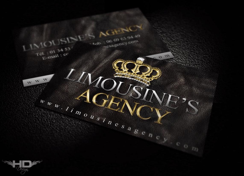 Cartes de visite Limousine's Agency