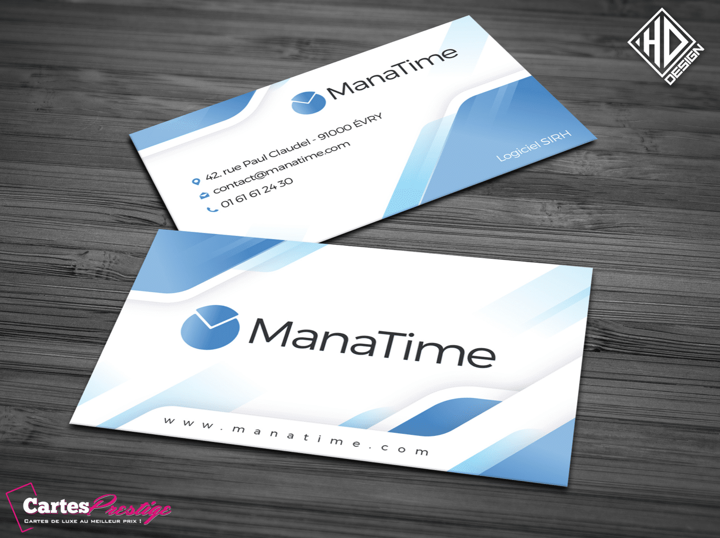 Cartes de visite Manatime