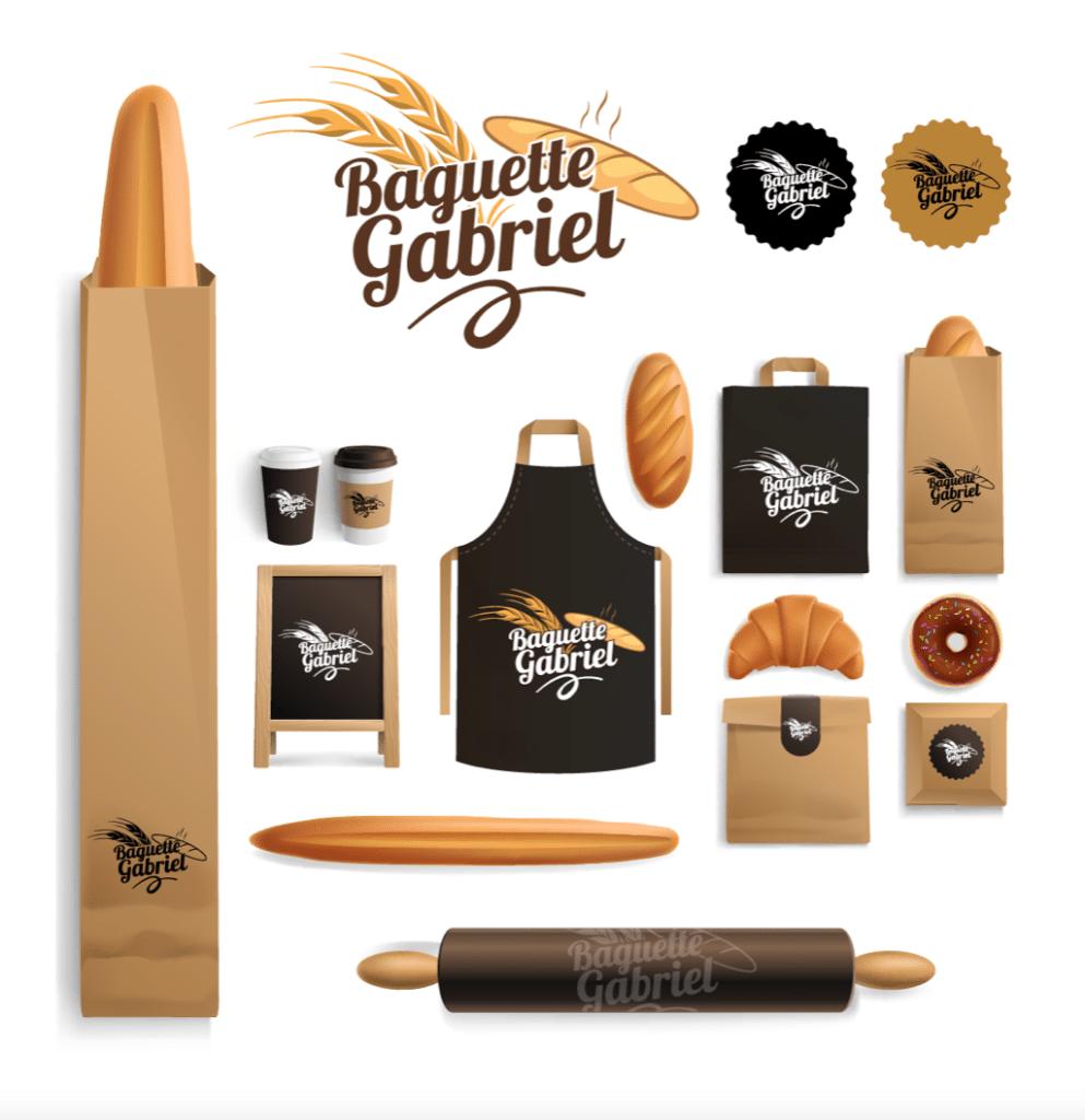 Charte Graphique Boulangerie