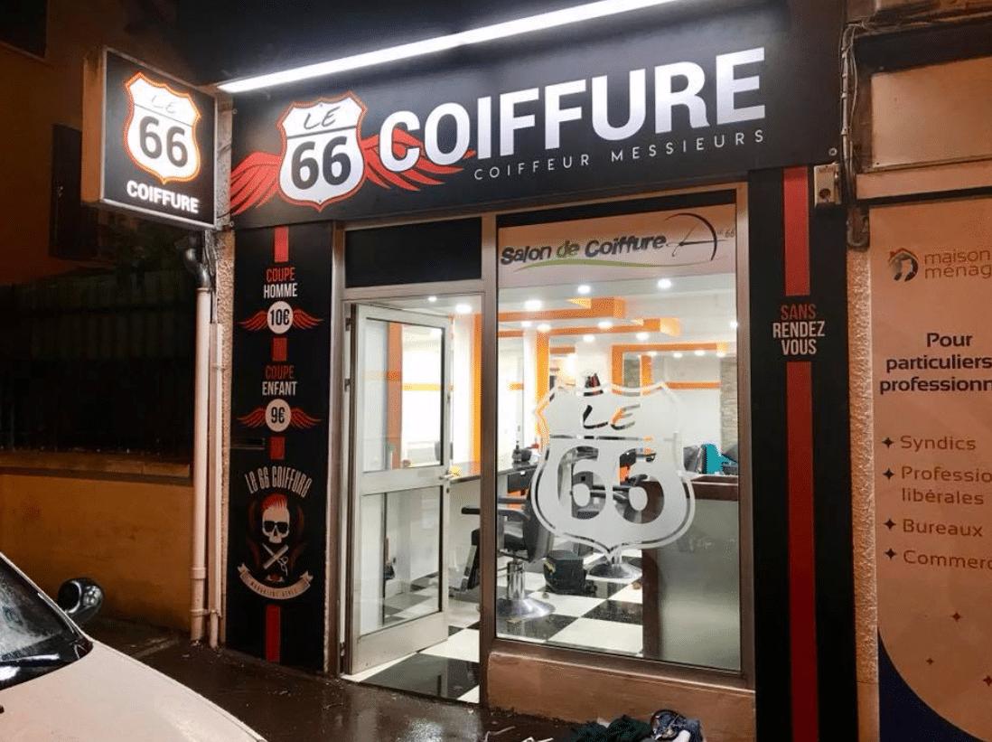 Coiffeur route 66