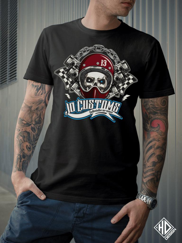 Dessinateur T Shirt JO Customs