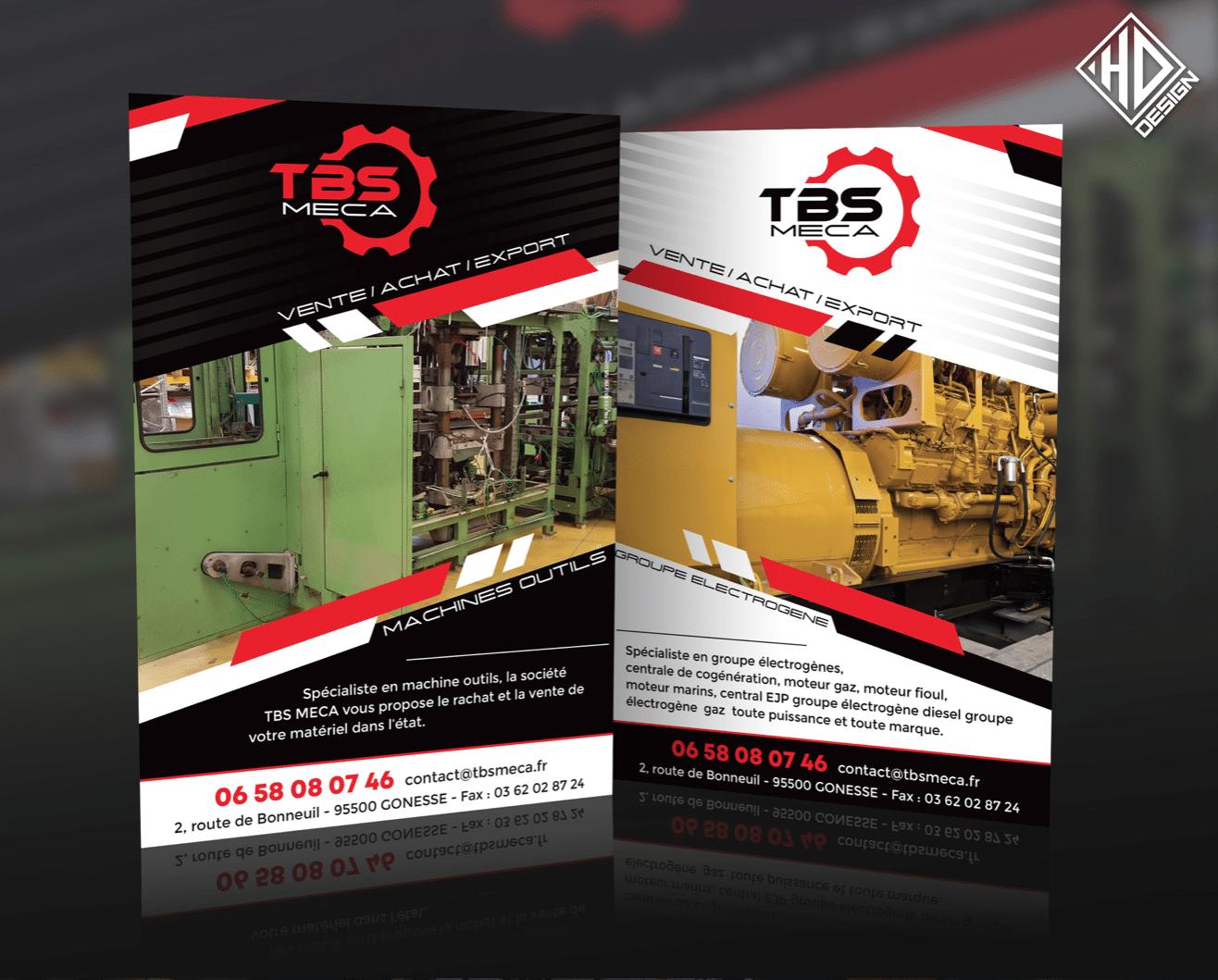 Flyer TBS Meca