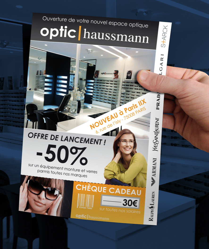 Flyer Opticien