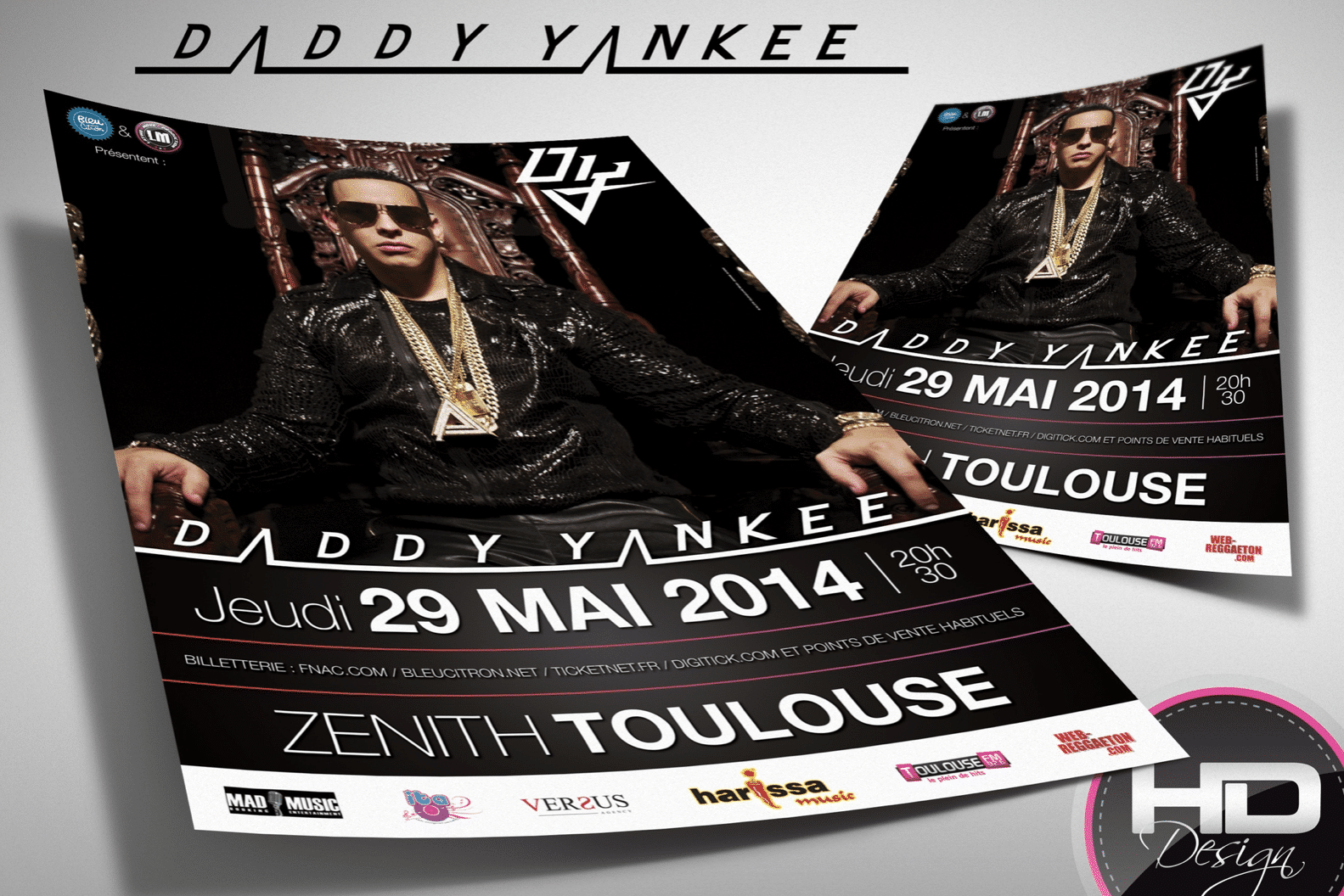 Flyer Daddy Yankee
