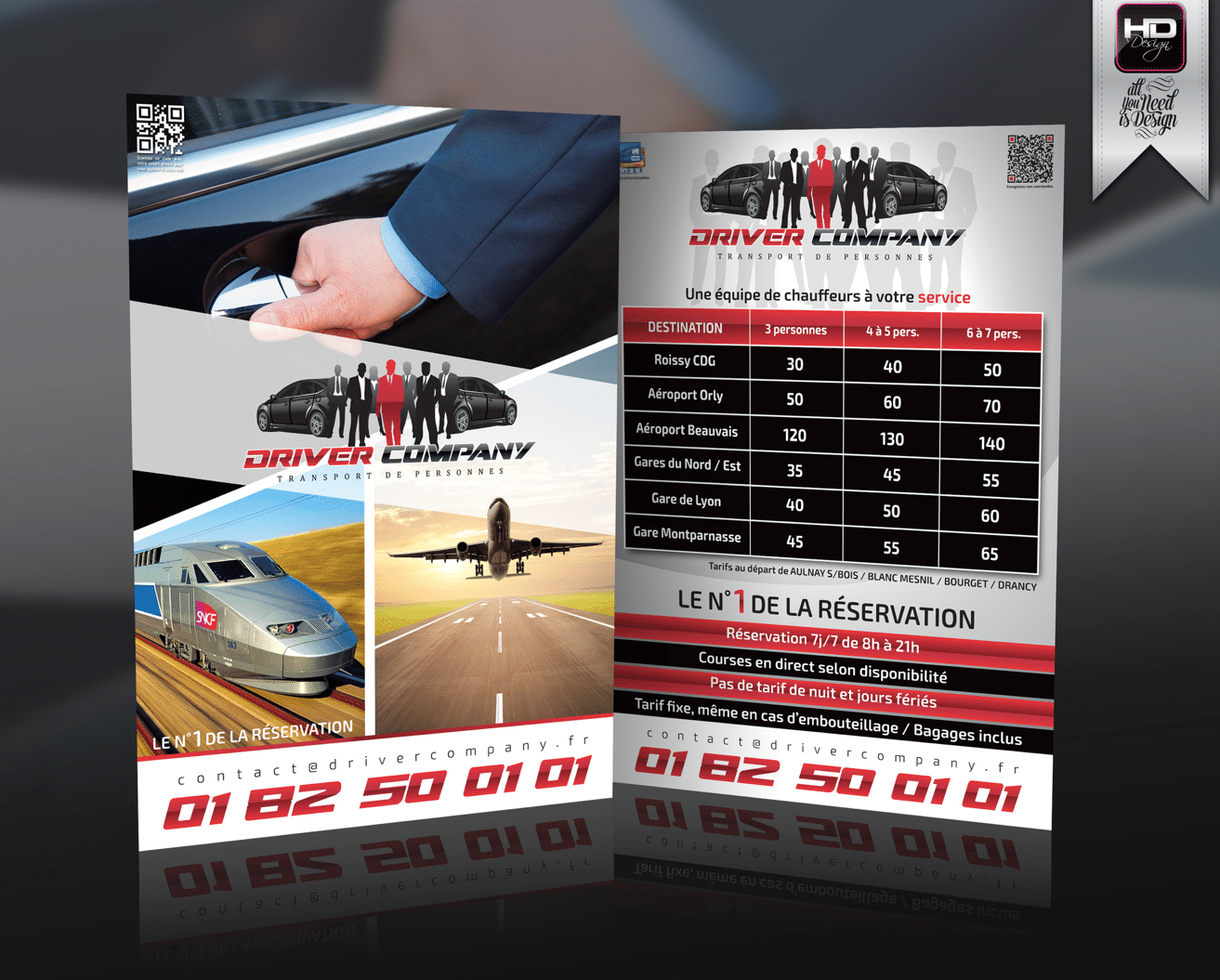 Flyer Driver Company