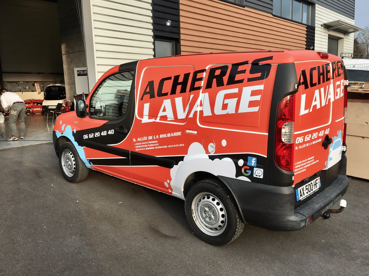 Lavage Covering Camion