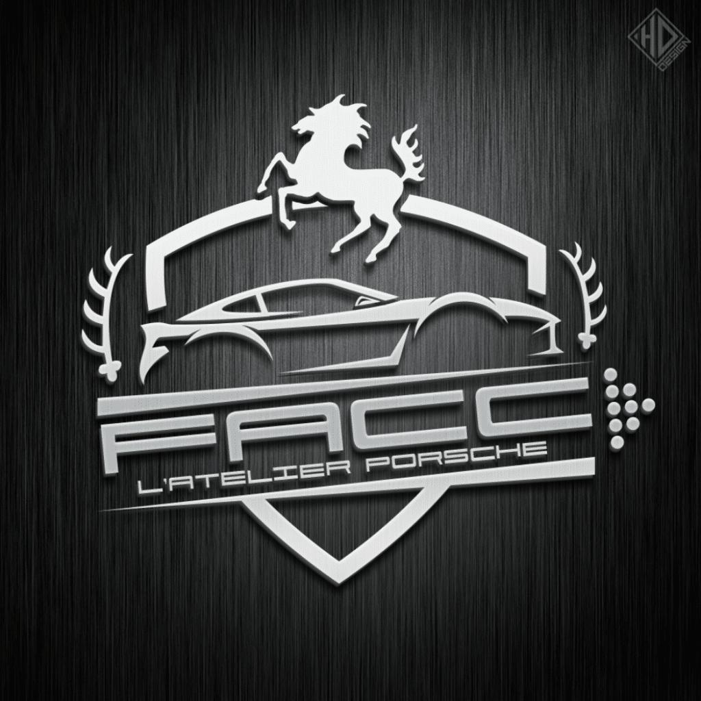 Logo FACC Porsche Atelier