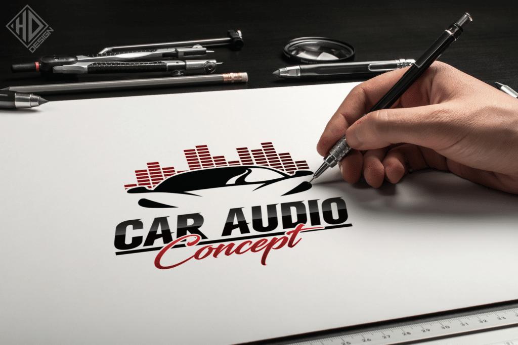 Logo Car Audio Concept