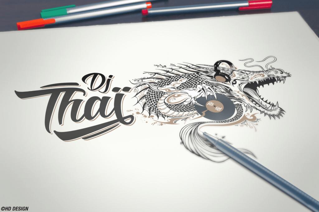 Logo DJ Thai