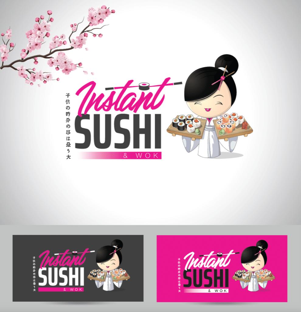 Logo Instant Sushi