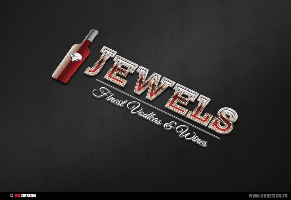 Logo Jewels Vodka