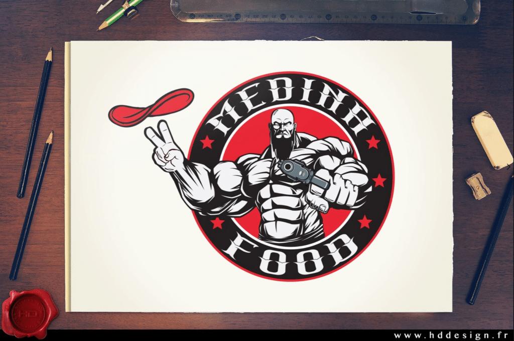 Logo Medina Food