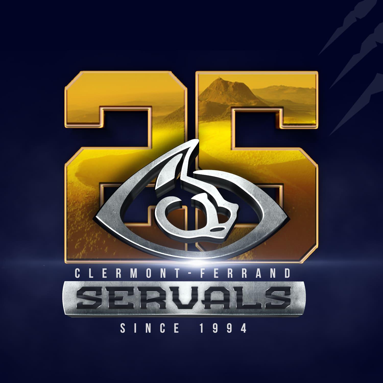 Logo 25 Ans Servals