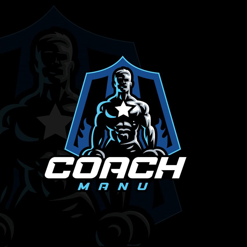 Logo Coach Sportif Manu