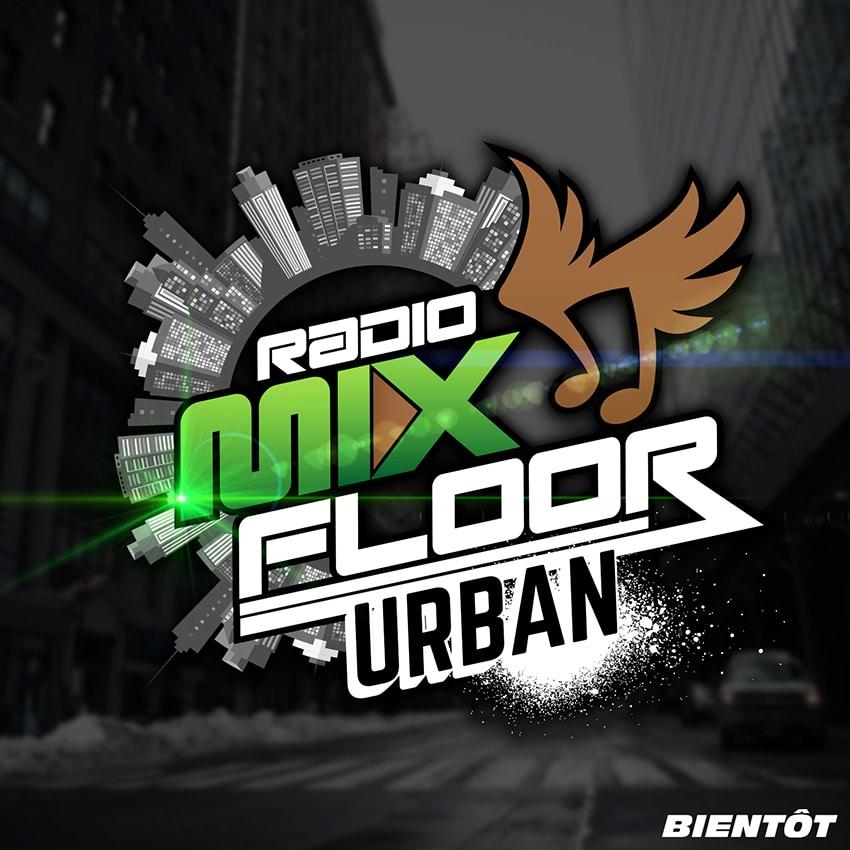 Logo Radio Mix Floor Urban Musique
