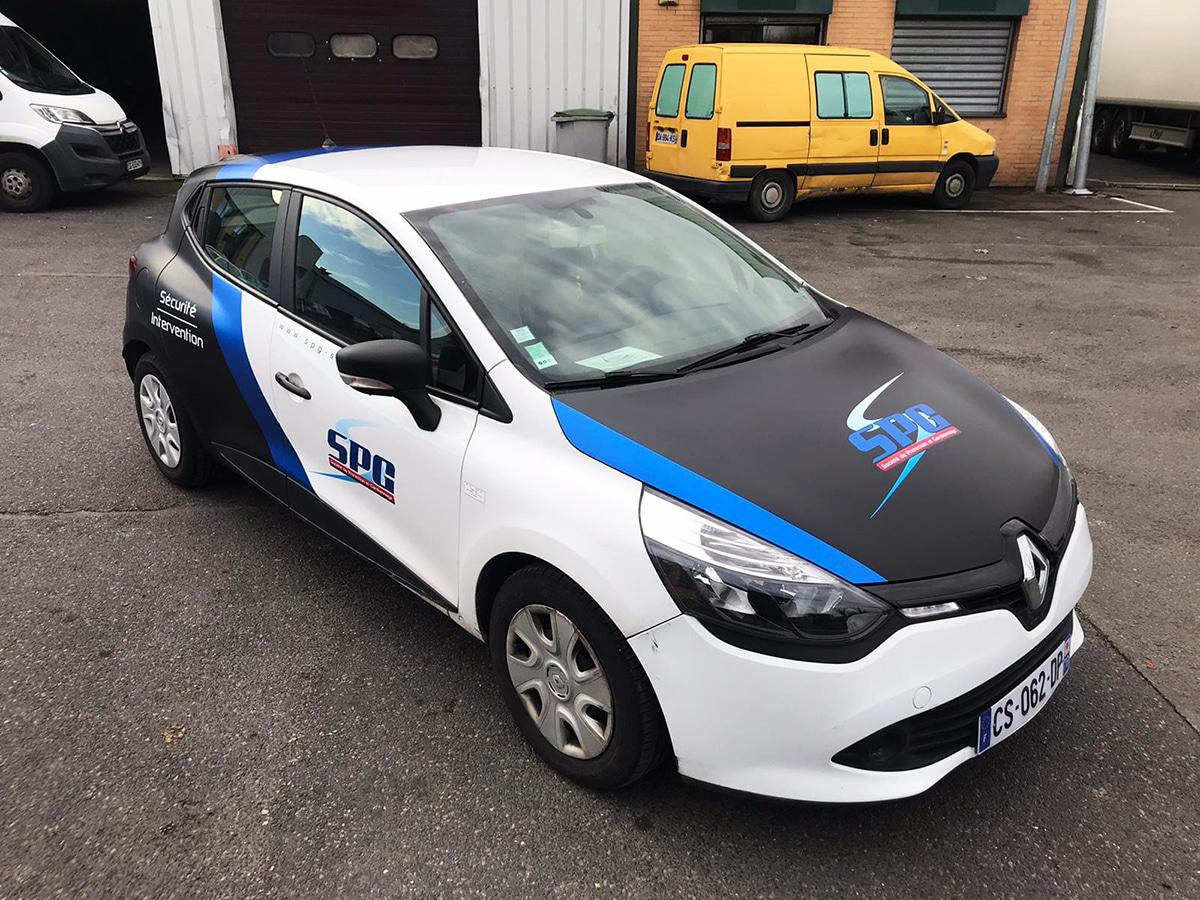 Covering Clio Sécurité