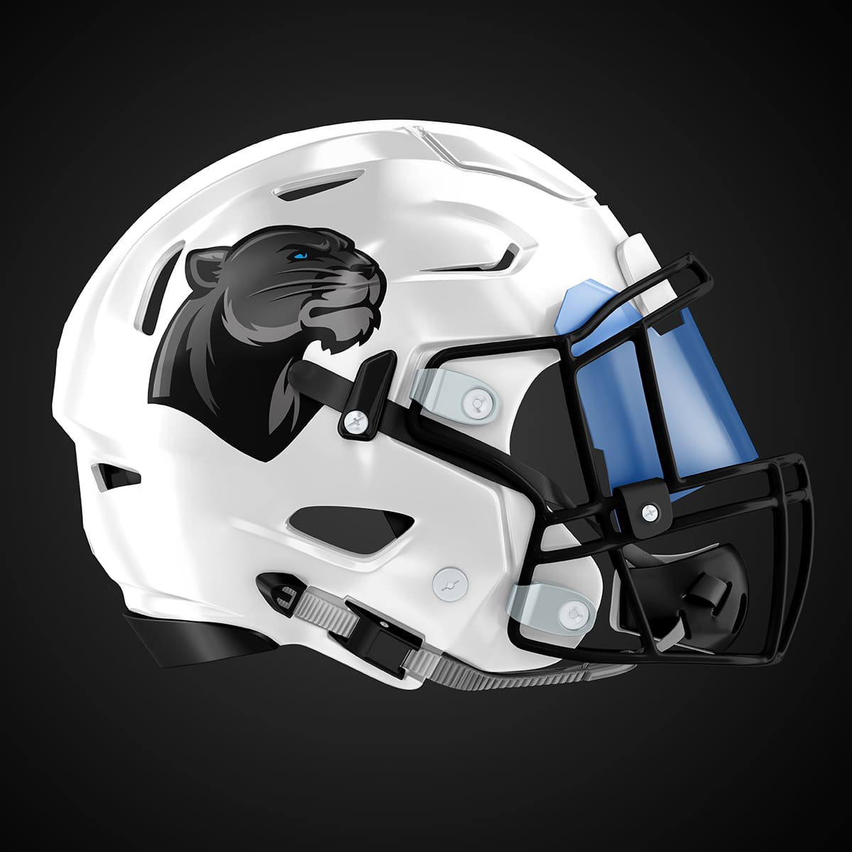 Casque Football US Panthers