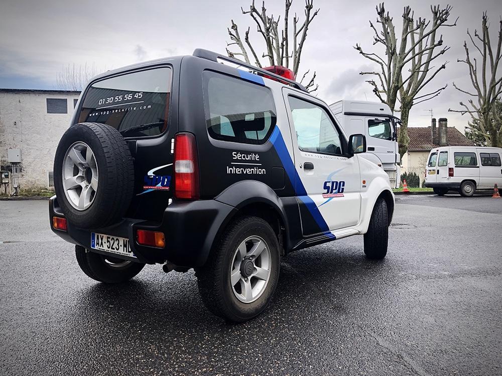 Covering SUV Sécurité