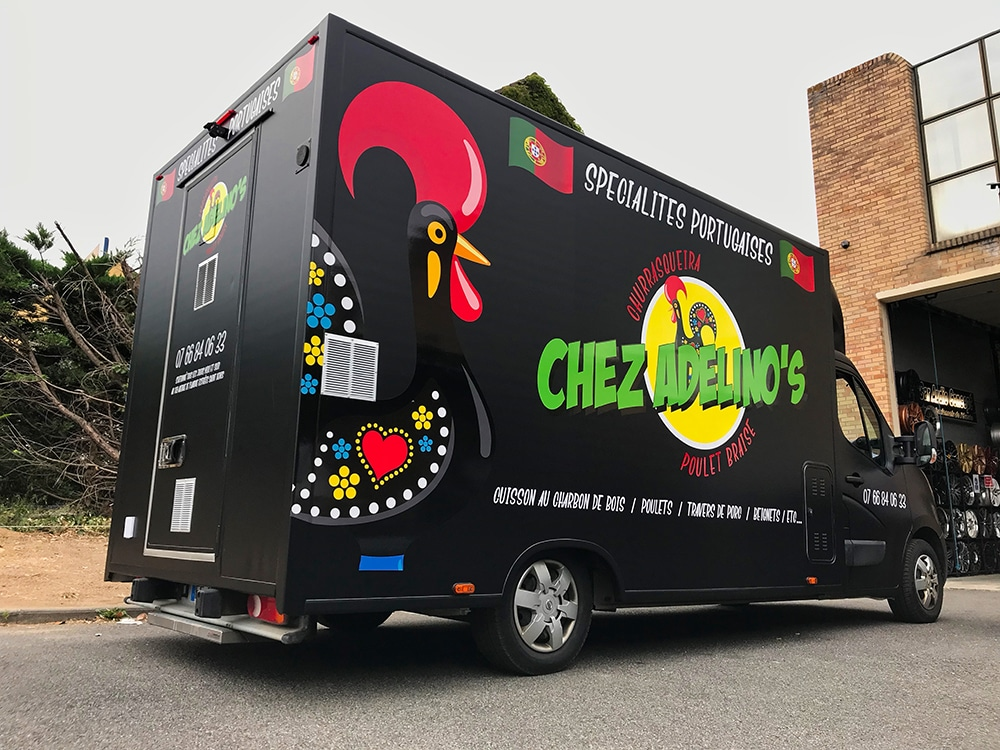 food truck portugais