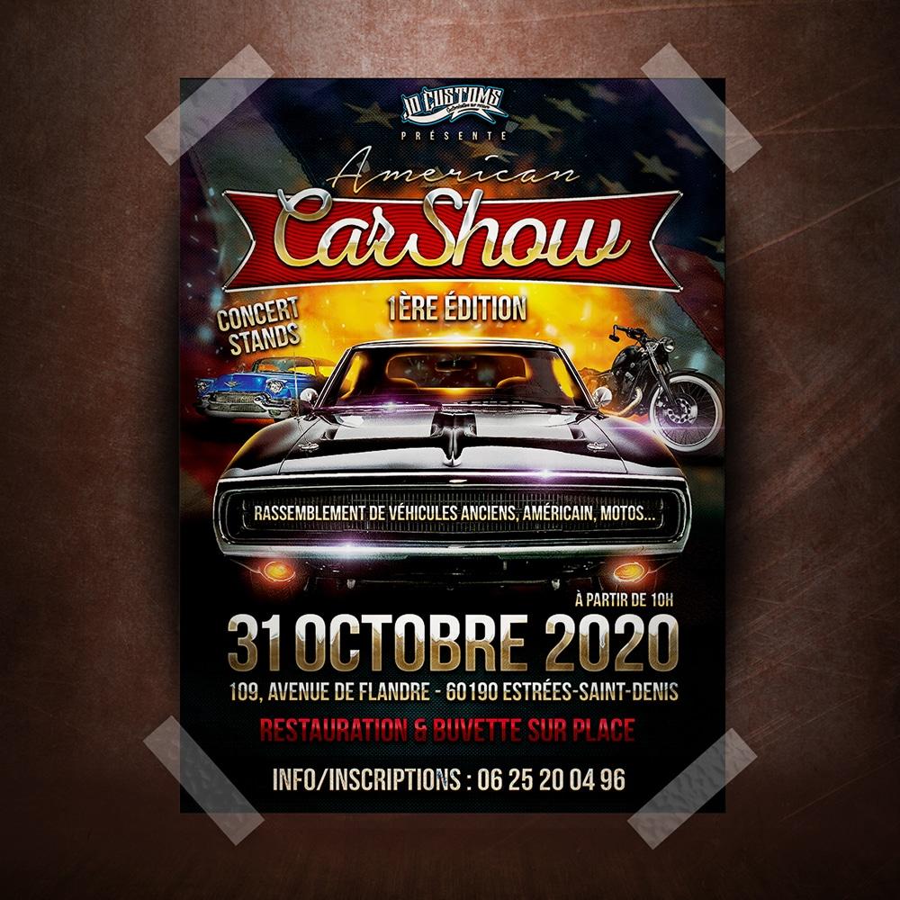 Affiche Car Show