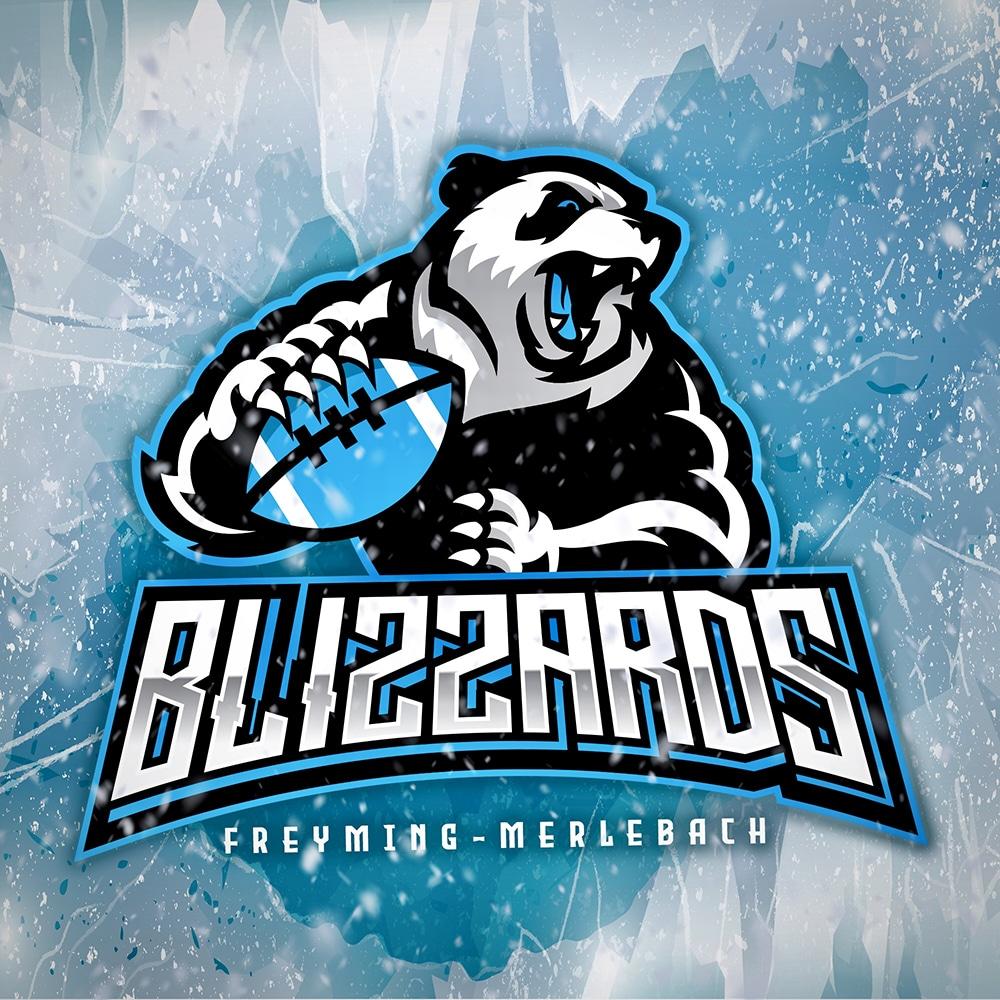 Logo Blizzards Football US