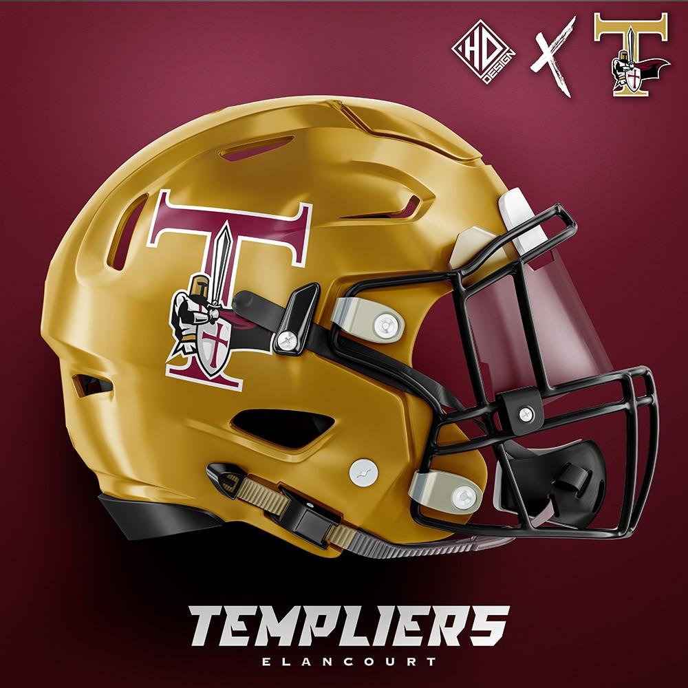Casque Templiers Logo